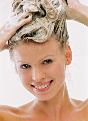 Wash  Hair Color on Hair Washing